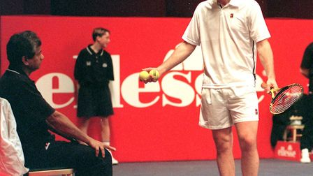 John McEnroe, appeared on the BBC's top earners list. I didn't know the Beeb showed so much tennis!