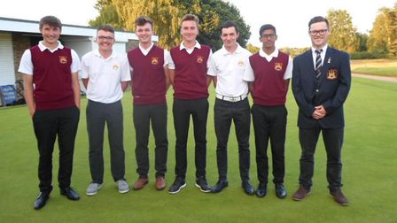 Suffolk boys did well to finish in sixth place in the South Eastern Group county qualifier at Woodbr