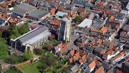 Beccles is to have a new bypass. Picture: MIKE PAGE AERIAL PHOTO LIBRARY