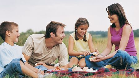 Family Having a Picnic in the Countryside. Picture: DIGITAL VISION