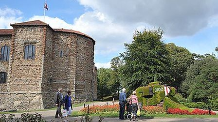 There is plenty to do at the Colchester Castle Park. Picture: SARAH LUCY BROWN