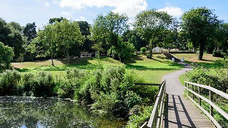 The kids will have hours of fun at Holywells Park. Picutre: BARRY PULLEN