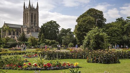 The famous Abbey Gardens are a must see this Summer. Picture: MARTIN GRAYLING