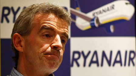 Ryanair chief executive Michael O'Leary. Picture: Julien Behal/PA Wire