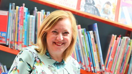 Alison Wheeler, chief executive of Suffolk Libraries. Picture: GREGG BROWN