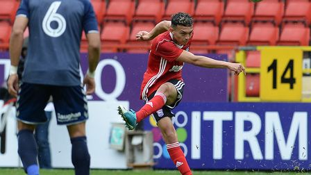 Andre Dozzell had a positive contribution after coming on at half-time. Photo: PAGEPIX LTD