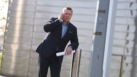 Anthony Webb outside Ipswich Crown Court. Picture: ARCHANT