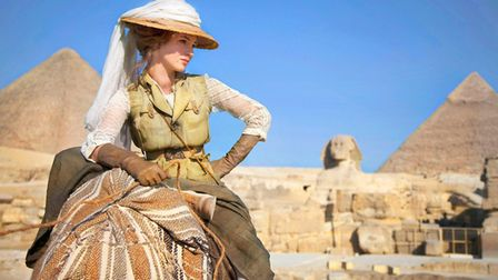 Louise Bourgoin stars as the eponymous adventurer in Luc Besson's The Extraordinary Adventures of Ad