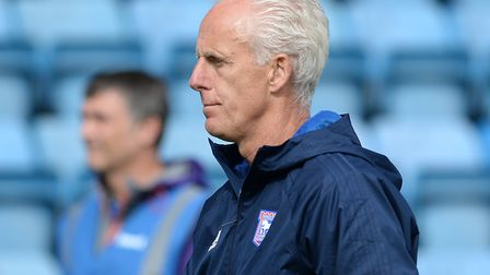 Ipswich Town manager Mick McCarthy was fuming after the 6-1 defeat to Charlton. Picture: PAGEPIX LTD