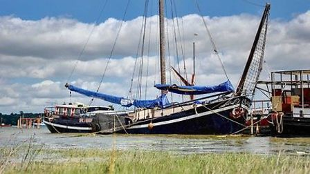 Woodfarm Barns owner Carl Scott has launched a new venture, Woodfarm Barges. Pictured is Onderneming