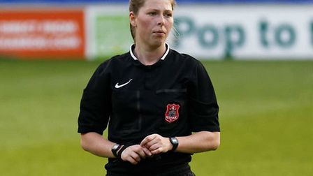 Abi Marriott, who has been appointed as an assistant referee for the Women's Under-19 European Champ