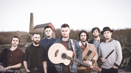 Sam Kelly and The Lost Boys play FolkEast, at Glemham Hall, this weekend. Photo: Redwood Photography