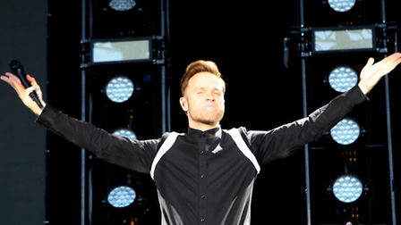 Olly Murs at a previous concert in Colchester. Picture: SEANA HUGHES