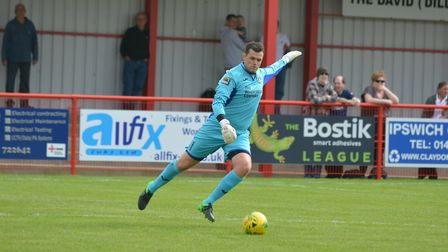 Needham stopper Danny Gay was in fine form despite their defeat