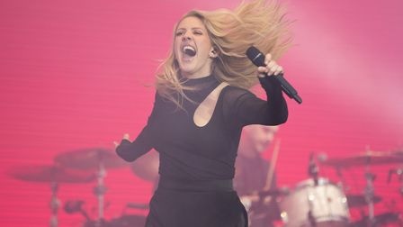 Ellie Goulding performs at V Fest 2017. Picture: AARON CHOWN/PA WIRE