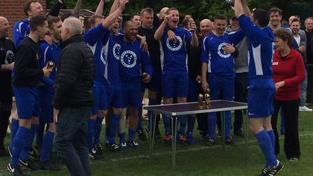 AFC YourShirts won the Club Colours Cup last season. Picture: CHRIS BRAMMER