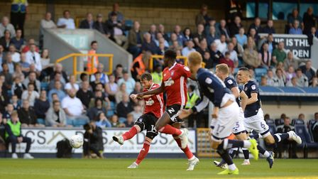 Joe Garner strikes back for Ipswich within minutes against Millwall Picture Pagepix