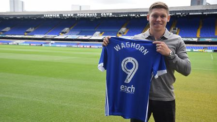 Ipswich Town have signed Martyn Waghorn from Rangers for a reported fee of £1m. Photo: ITFC