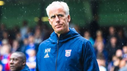 Mick McCarthy has won just two of his 15 cup games in charge of Ipswich Town. Photo: Steve Waller