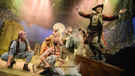 Colchester Mercury's summer production Peter Pan. Photo: Robert Day