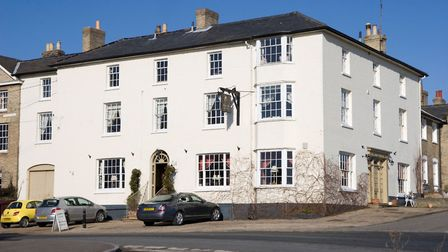 The Black Lion atl Long Melford, pictured before the start of the refurbishment and renovation work