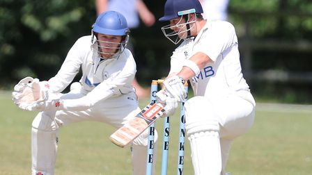 Ryan Vickery, who made a swift 78 in Elmstead's victory over Frinton 2nds.