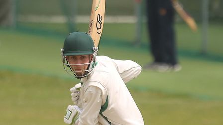 James Scott, top-scored with 54 in Mistley's narrow victory over Witham on Saturday. Picture: SEANA
