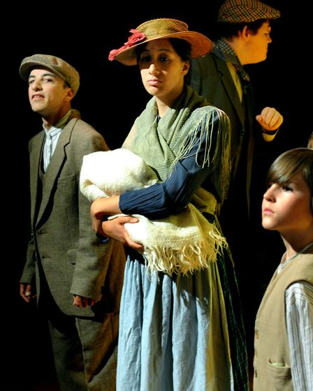 The Stowmarket Operatic and Dramatic Society present The Railway Children in the round at the John P