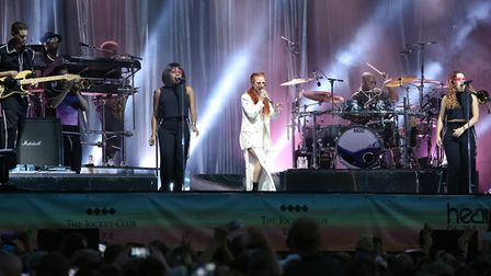 Jess Glynne will be performing at Newmarket Racecourse August 26. Photo: Contributed