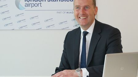 Andrew Cowan, chief executive at Stansted Airport