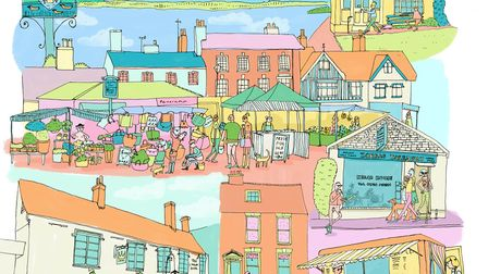 Framlingham by Polly Williams. Picture: POLLY WILLIAMS