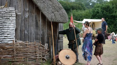 Head down to the West Stow Anglo-Saxon Village for the Up and Over with Gloria event. Picture: PHIL