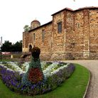 Some of the floral displays in Colchester Castle Park