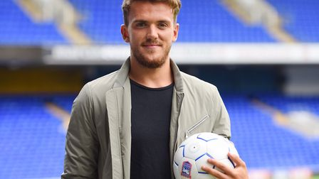 Karl's very happy with the Emyr Huws signing. Picture: SARAH LUCY-BROWN