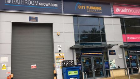 City Plumbing in Bury St Edmunds, which is closing. Picture: MICHAEL STEWARD