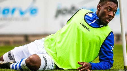 Ryan Jackson, ready to make his home debut against Aston Villa tonight. Picture: STEVE WALLER