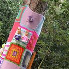 Treefest is branded a colourful success as EACH is 'overcome' with donations of knitted squares. Pic