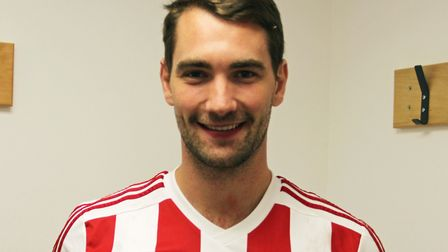 Taylor Hastings has signed for Felixstowe & Walton United. Picture: STAN BASTON