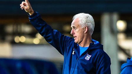 Peace: Ipswich Town boss Mick McCarthy hopes that Blues fans are back on side following a positive s