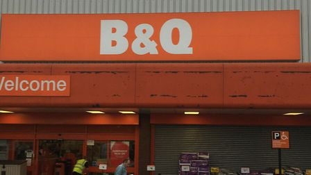 Sales figures are expected to show a dip at B&Q