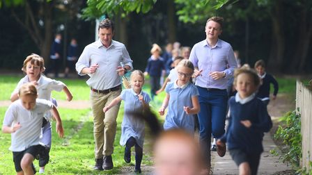 Kyson Primary School has already signed up to the Daily Mile scheme. Teachers and pupils running or