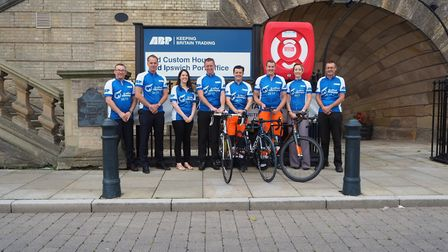 Team from ABP Port of Ipswich who will be cycling in the Crafted Classique Race