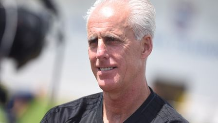 Ipswich Town boss Mick McCarthy loves trying to defy the odds. Photo: Gregg Brown