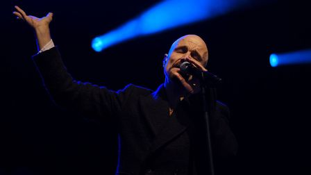 James' lead singer Tim Booth. Picture: JENNY ENTWHISTLE/CHUFF MEDIA