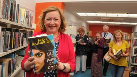 Alison Wheeler in the newly refurbished Rosehill Library. Picture: ARCHANT