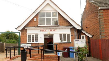 Rosehill Library - Ipswich's oldest purpose-built library. Picture: ARCHANT