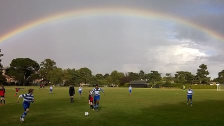 Andy Pearce's stunning winning entry in the Suffolk FA Grassroots Photograph of the Season