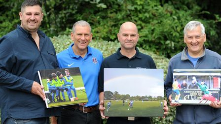 Grassroots Photograph of the Season winners 2017 – pictured, left to right, with their winning entri