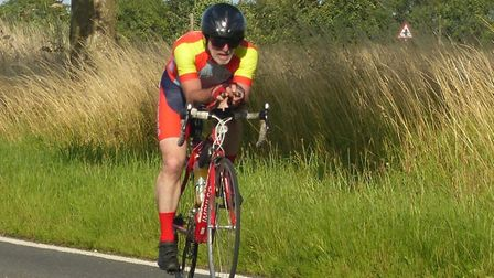Cliff Matthews - 232 miles for the Ipswich rider in the CC Breckland 12. Picture: FERGUS MUIR