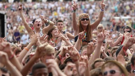 The crowd at previous V festival at Hylands Park in Chelmsford. Picture: YUI MOK/PA WIRE